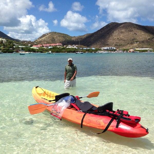 Photo taken at Caribbean Paddling - Canoe - Kayak - Paddle Board by sukhchander on 3/16/2014