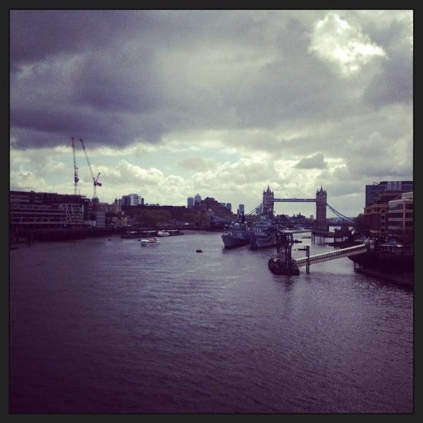 Photo taken at London Bridge by Chris A. on 5/11/2013