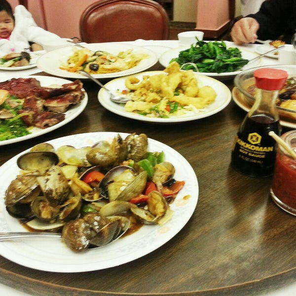 Photo taken at Canton Dim Sum & Seafood Restaurant by Arlene V. on 2/2/2014