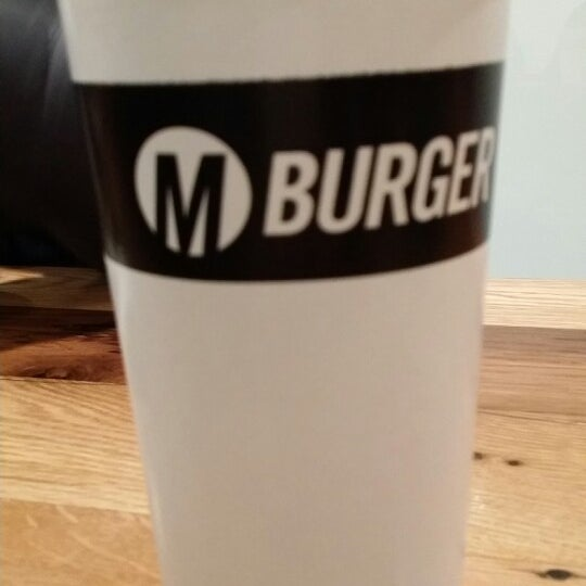 Photo taken at M Burger by Lamya F. on 2/14/2014