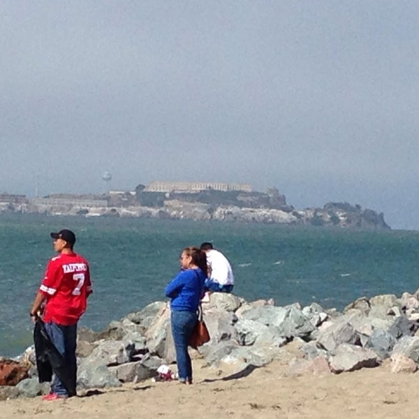 Photo taken at Crissy Field by Lulu P. on 7/5/2014