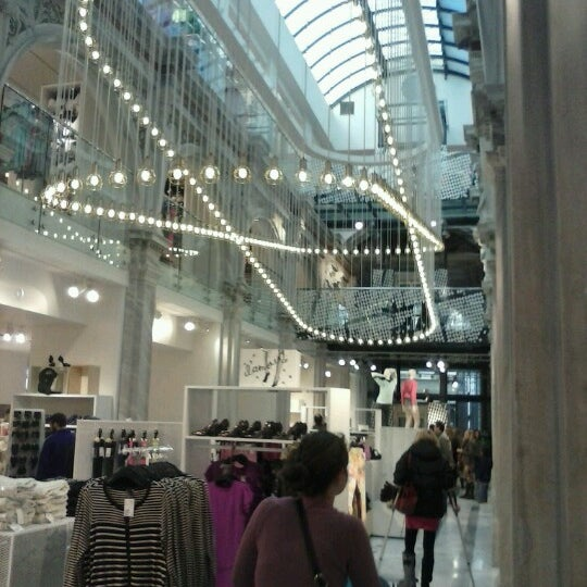 Photo taken at H&M by Vassilis S. on 1/4/2013