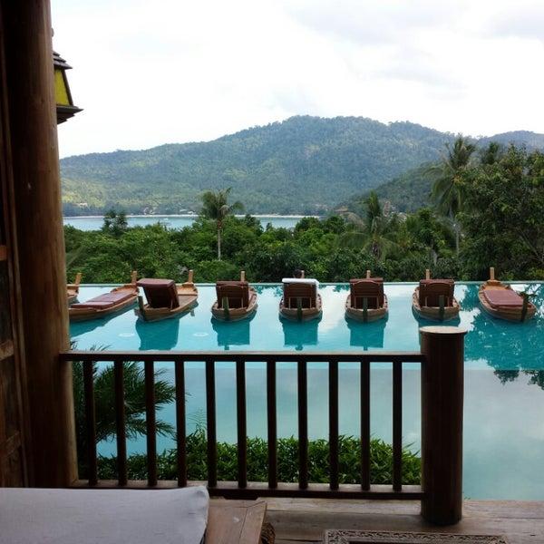 Photo taken at Santhiya Resort And Spa Koh Phangan by Beto G. on 6/7/2014