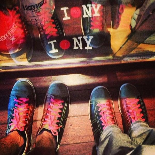 Photo taken at Lucky Strike New York by Konstantin B. on 9/23/2013