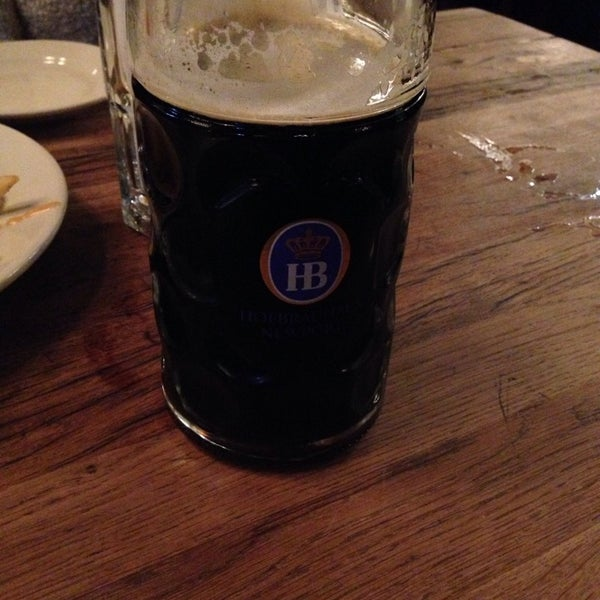 Photo taken at Hofbräuhaus Newport by Zach B. on 1/10/2014