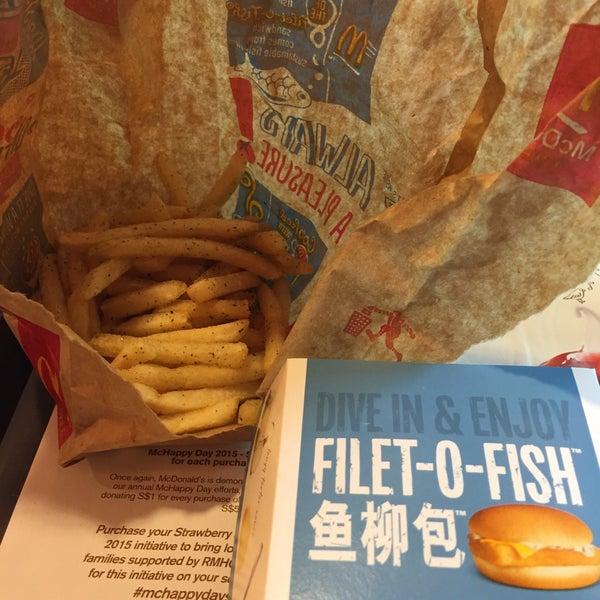 Photo taken at McDonald's / McCafé by Jerrod L. on 11/12/2015