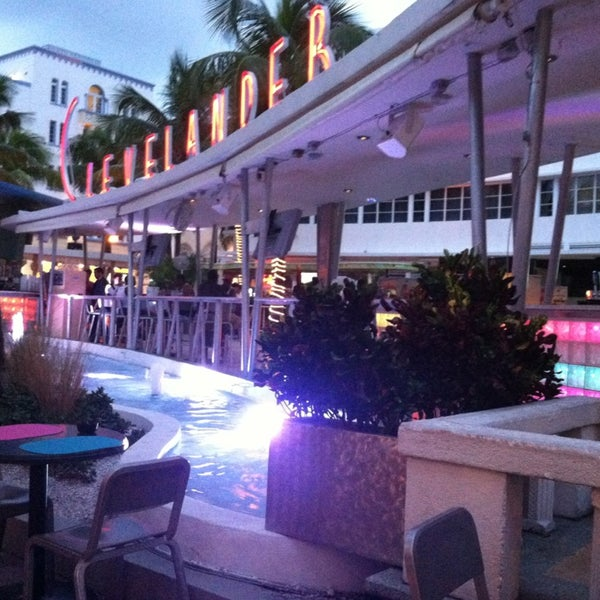 Photo taken at Clevelander by Crystal on 9/19/2013