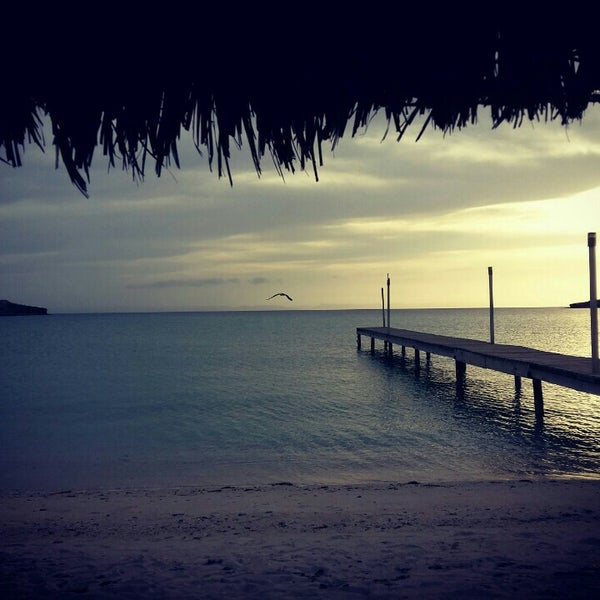 Photo taken at Playa Pichilingue by Fabián M. on 4/30/2016