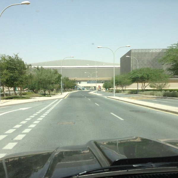 Photo taken at Qatar Science and Technology Park by Yasser A. on 6/10/2013