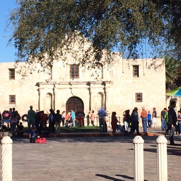 Photo taken at The Alamo by Sanya K. on 3/11/2014