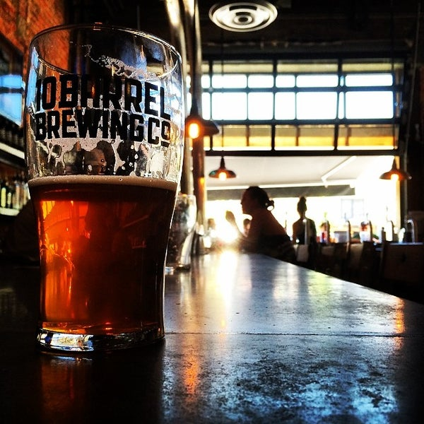 Photo taken at 10 Barrel Brewing by Brett R. on 6/7/2014