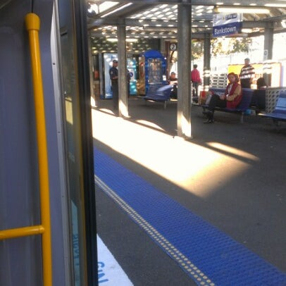 Photo taken at Bankstown Station by Mr G. on 9/30/2012
