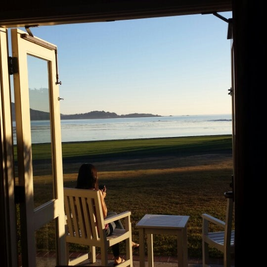 Photo taken at The Lodge at Pebble Beach by Ryan H. on 1/18/2014