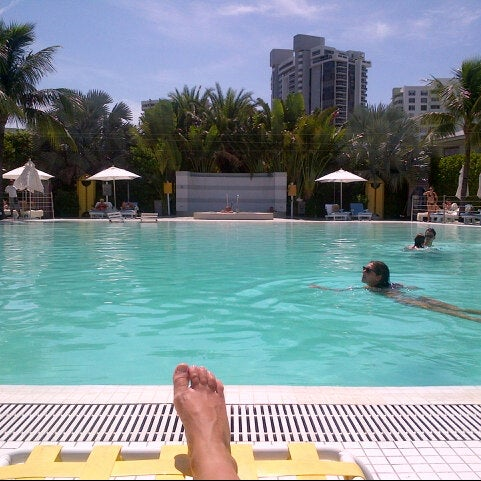 Photo taken at The Standard Spa, Miami Beach by Klaudia P. on 9/16/2012
