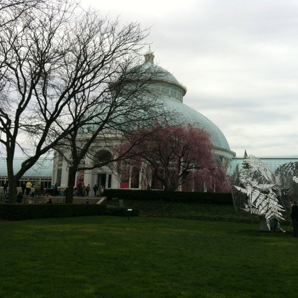 Photo taken at Enid A. Haupt Conservatory by Yildiz H. on 4/20/2013