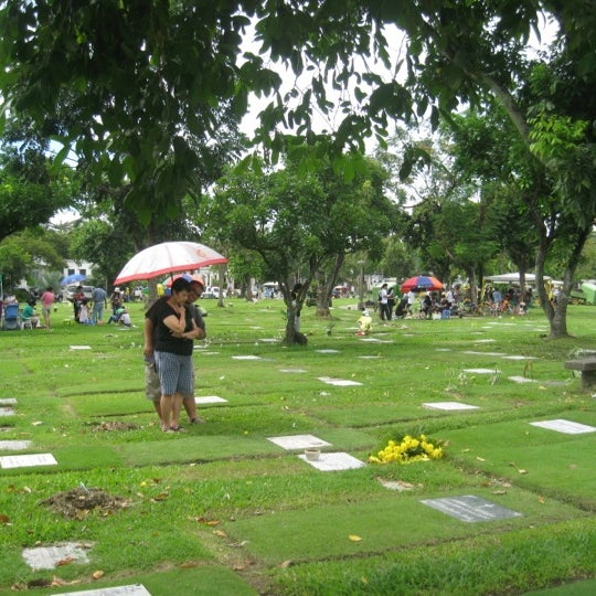 Photo taken at Manila Memorial Park by Lin V. on 10/28/2012