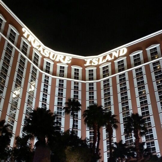 Photo taken at Treasure Island - TI Hotel & Casino by Karin H. on 12/2/2012