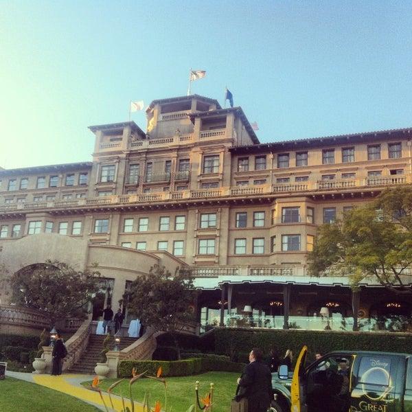 Photo taken at Langham Huntington Hotel by Eduardo M. on 2/17/2013