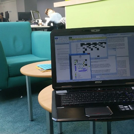 Photo taken at Northumbria University Library by Arvin S. on 3/23/2014