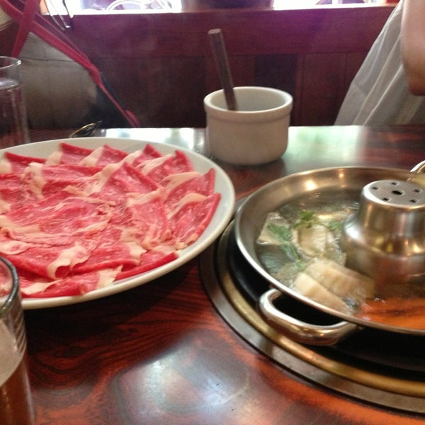 Photo taken at Shabu-Tatsu by Kenneth L. on 7/5/2013