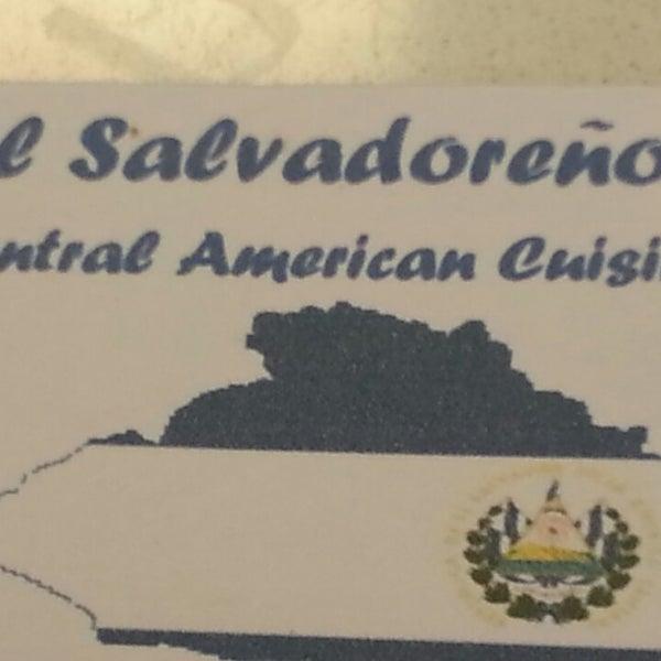 Photo taken at El Salvadoreño by Frank J. on 6/28/2014