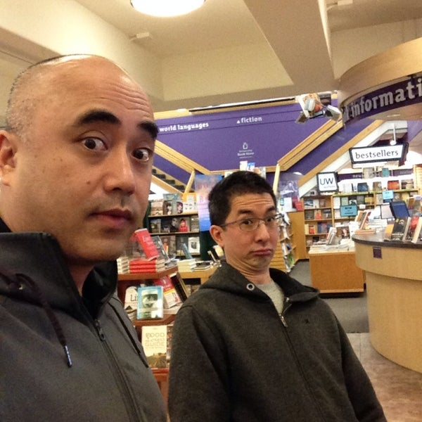Photo taken at University Bookstore by Carl T. on 1/24/2014