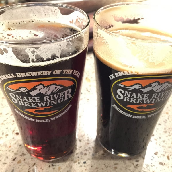Photo taken at Snake River Brewery & Restaurant by Becky M. on 11/13/2015