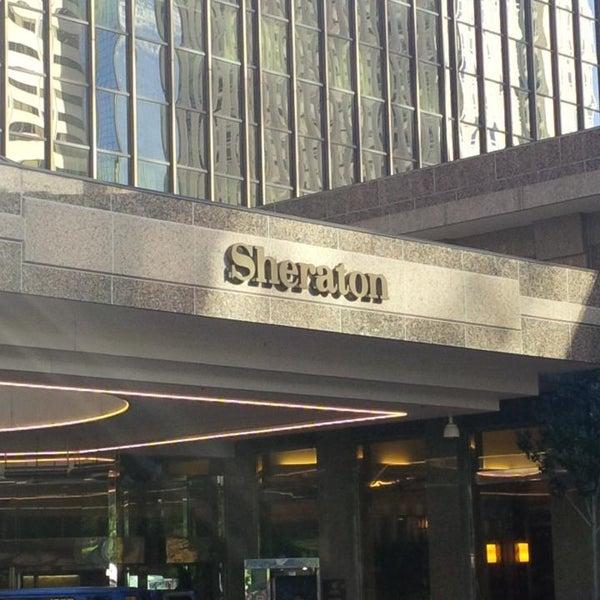 Photo taken at Sheraton Denver Downtown Hotel by Nikita M. on 9/30/2013