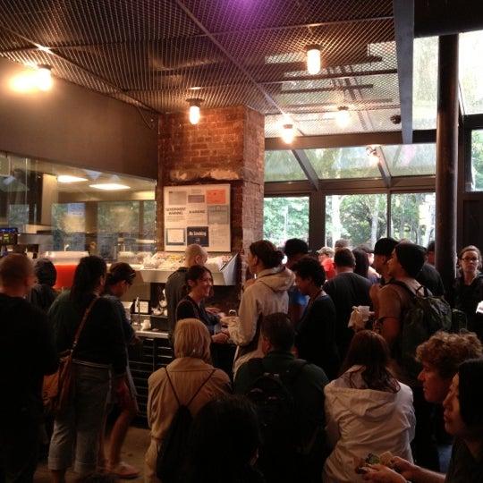 Photo taken at Shake Shack by Kate K. on 9/29/2012