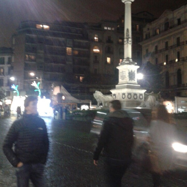 Photo taken at Piazza dei Martiri by Alessandro T. on 1/2/2014