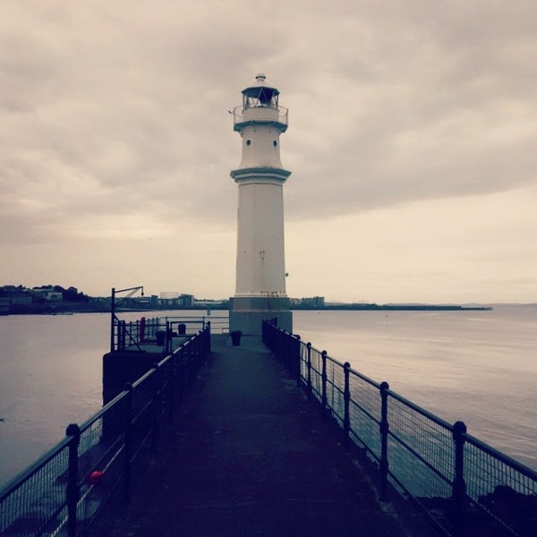Photo taken at Newhaven Harbour by Marcello T. on 8/10/2014