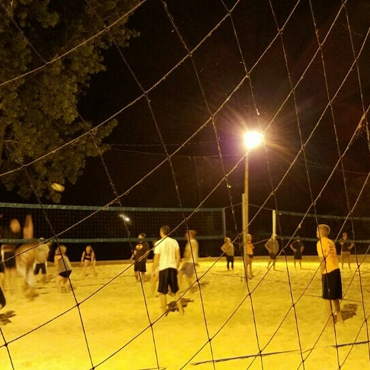 Photo taken at Whiskey Island Volleyball Courts by Jeremiah S. on 7/8/2016