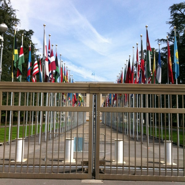 Photo taken at Palais des Nations by Grace R. on 5/5/2013