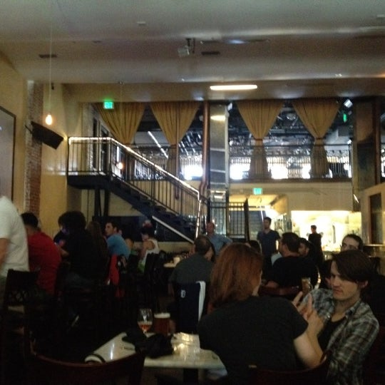 Photo taken at Los Angeles Brewing Company by Matthew L. on 10/7/2012