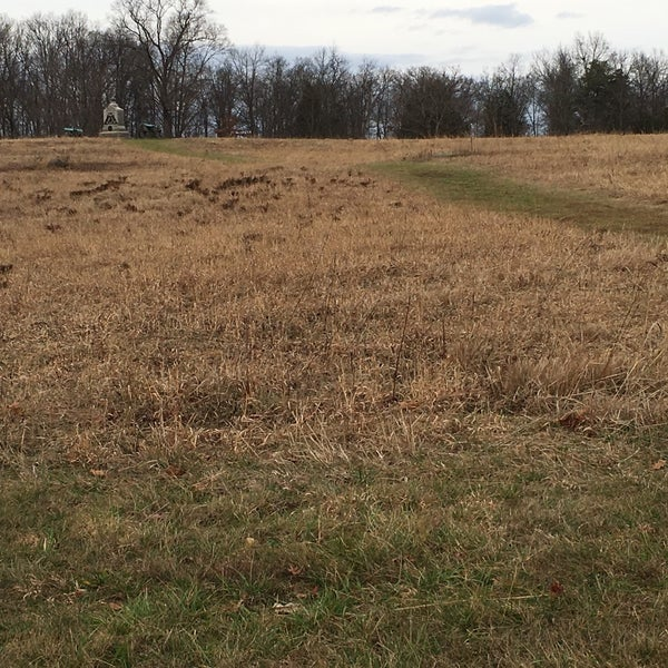 Photo taken at Wheatfield, Gettysburg Battlefield by Daniel K. on 12/27/2015