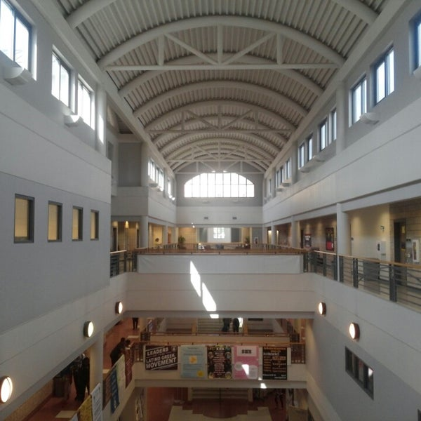Photo taken at Carmichael Student Center by Ed B. on 10/1/2014
