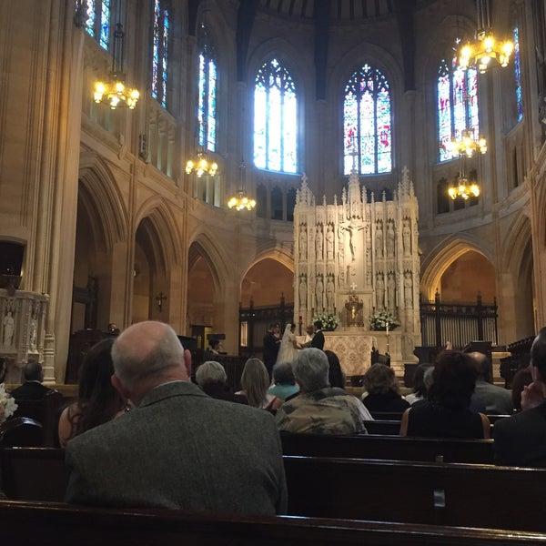 Photo taken at St. Dominic's Catholic Church by Nikhil B. on 11/22/2015