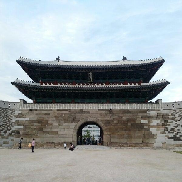 Photo taken at Sungnyemun by Subong J. on 10/6/2013