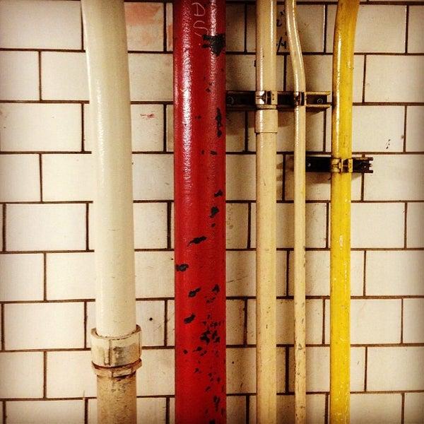 Photo taken at MTA Subway - York St (F) by Nick L. on 12/28/2012
