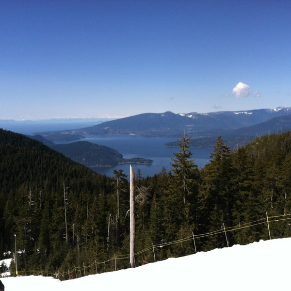 Photo taken at Cypress Mountain by Steve B. on 4/1/2014