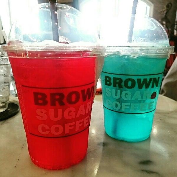 Photo taken at brown sugar cafe by Yaya M. on 7/5/2015