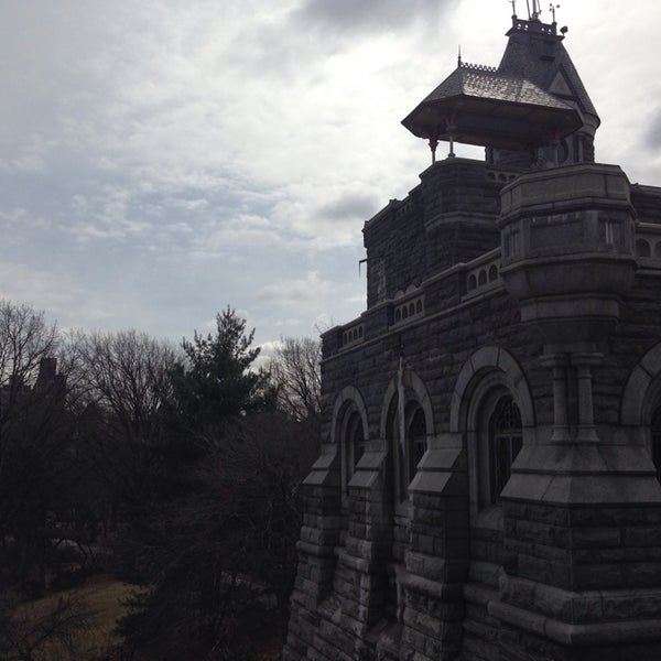 Photo taken at Belvedere Castle by Rainy Z. on 3/13/2014