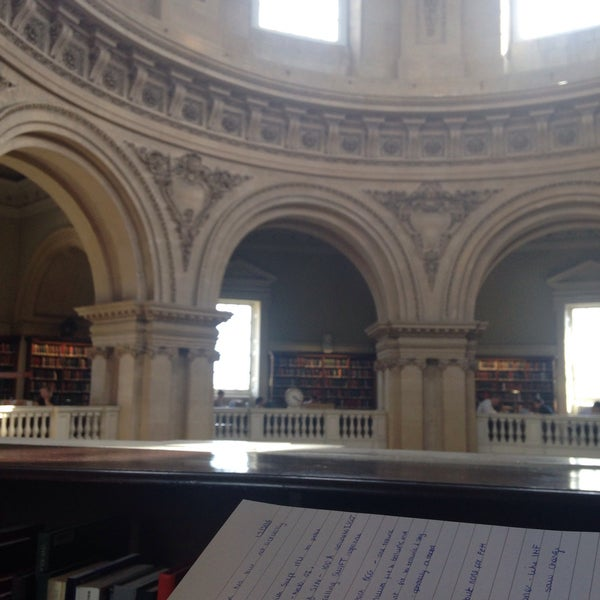 Photo taken at Radcliffe Camera by Becky S. on 5/19/2016