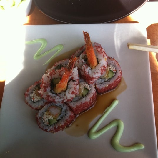 Photo taken at RA Sushi by Maci R. on 2/11/2012