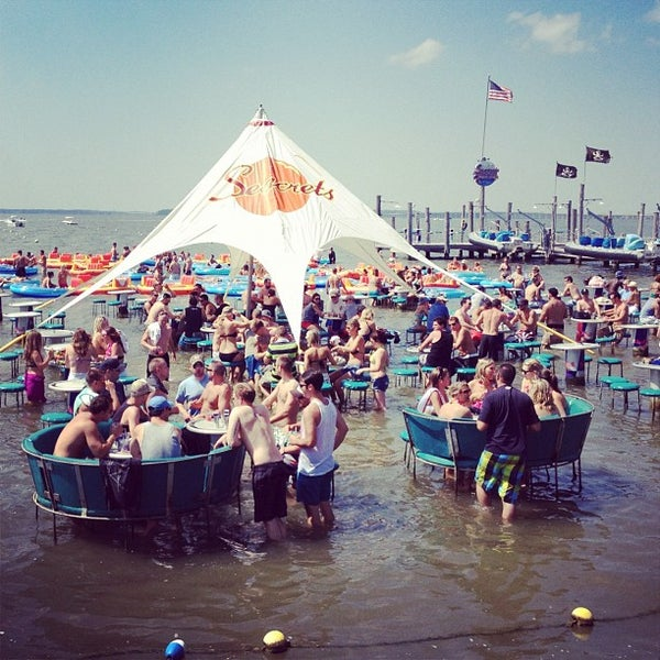 Photo taken at Seacrets by Ryan J. D. on 8/31/2012