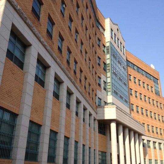 Photo taken at 연세대학교 새천년관 (Yonsei University, New Millennium Hall) by Wonseok S. on 2/16/2012