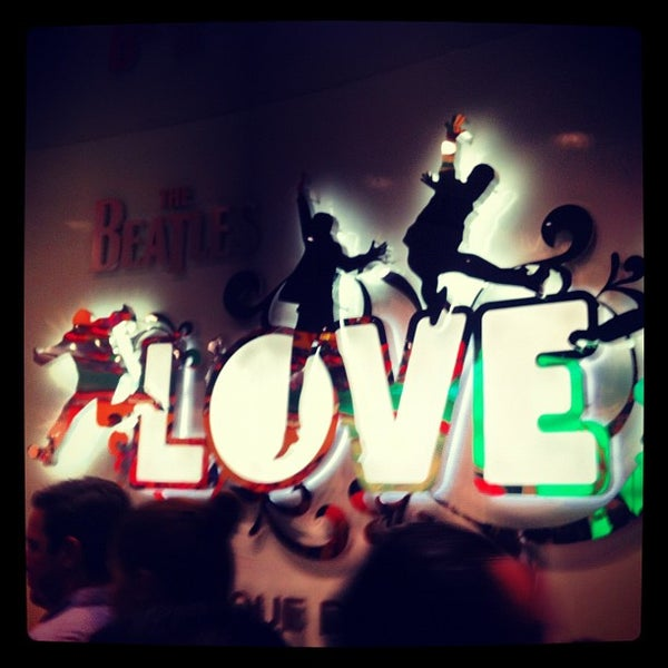 Photo taken at The Beatles LOVE (Cirque Du Soleil) by Kimmy H. on 7/22/2012