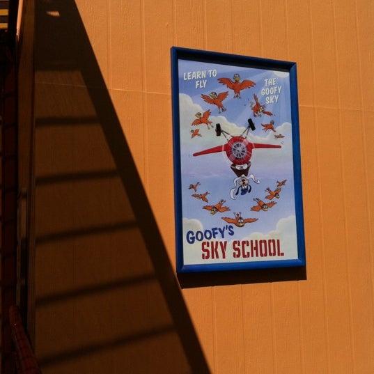 Photo taken at Goofy's Sky School by Erik V. on 9/9/2012