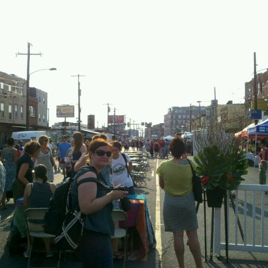 Photo taken at Night Market Washington Avenue by Christopher W. on 6/28/2012
