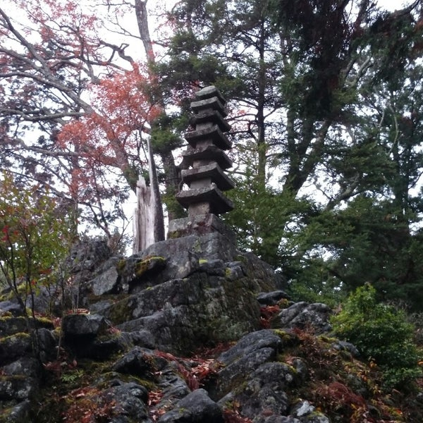 Photo taken at 室生寺 by mappie_tfm on 11/29/2014